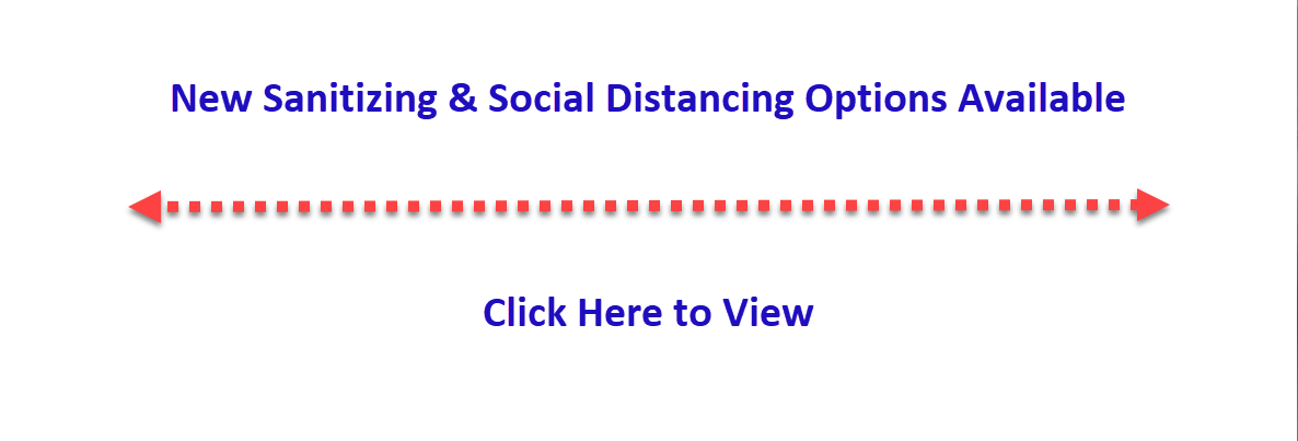 Sanitizing & Social Distancing