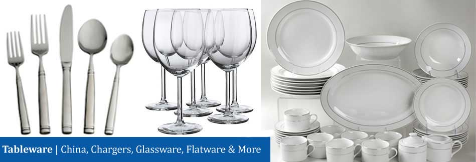 Tableware Dinnerware Rental