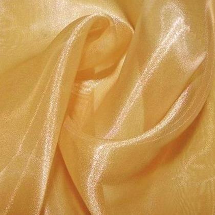 Antique Gold Sheer Organza - LOR14