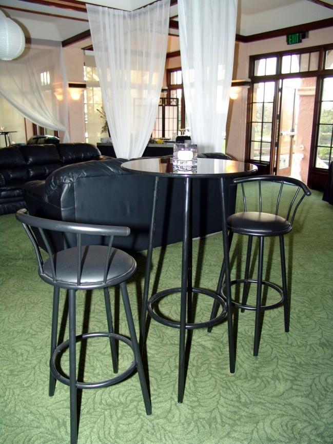 Black Bistro Tables - SF76 -  (Qty: 10+ )