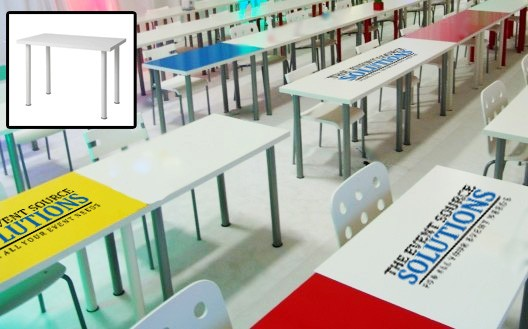 Training or Conference Tables (White) - T16