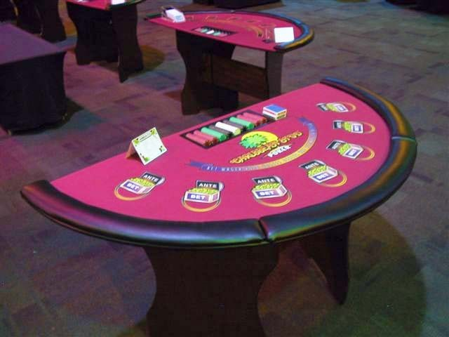 Caribbean Stud Poker Table Rental Orlando Event Rentals