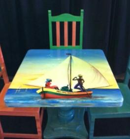 Caribbean table 3