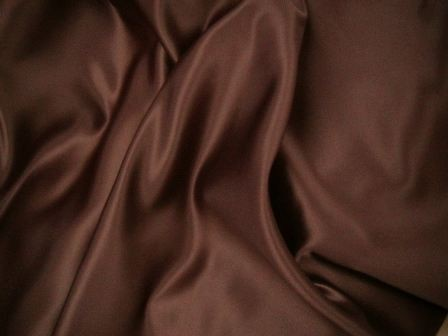 Chocolate Brown Satins