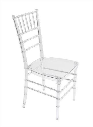 Clear Chiavari Chair - C24 (Qty: 140)