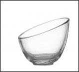 Crystal Slant Bowl - C011