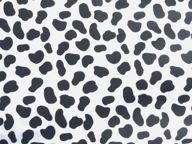 Dalmatian Print Tablecloth