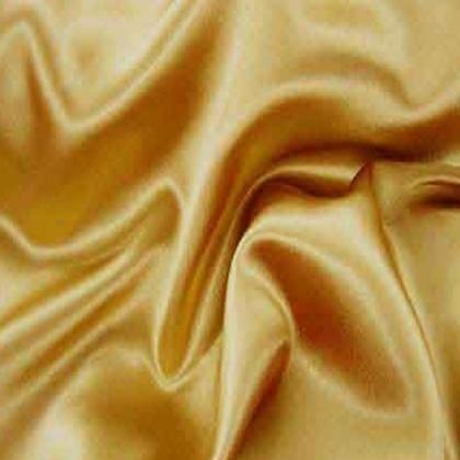 Gold Crepe Satin - LST29
