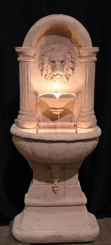 Lions Head Wall Fountain - PR57