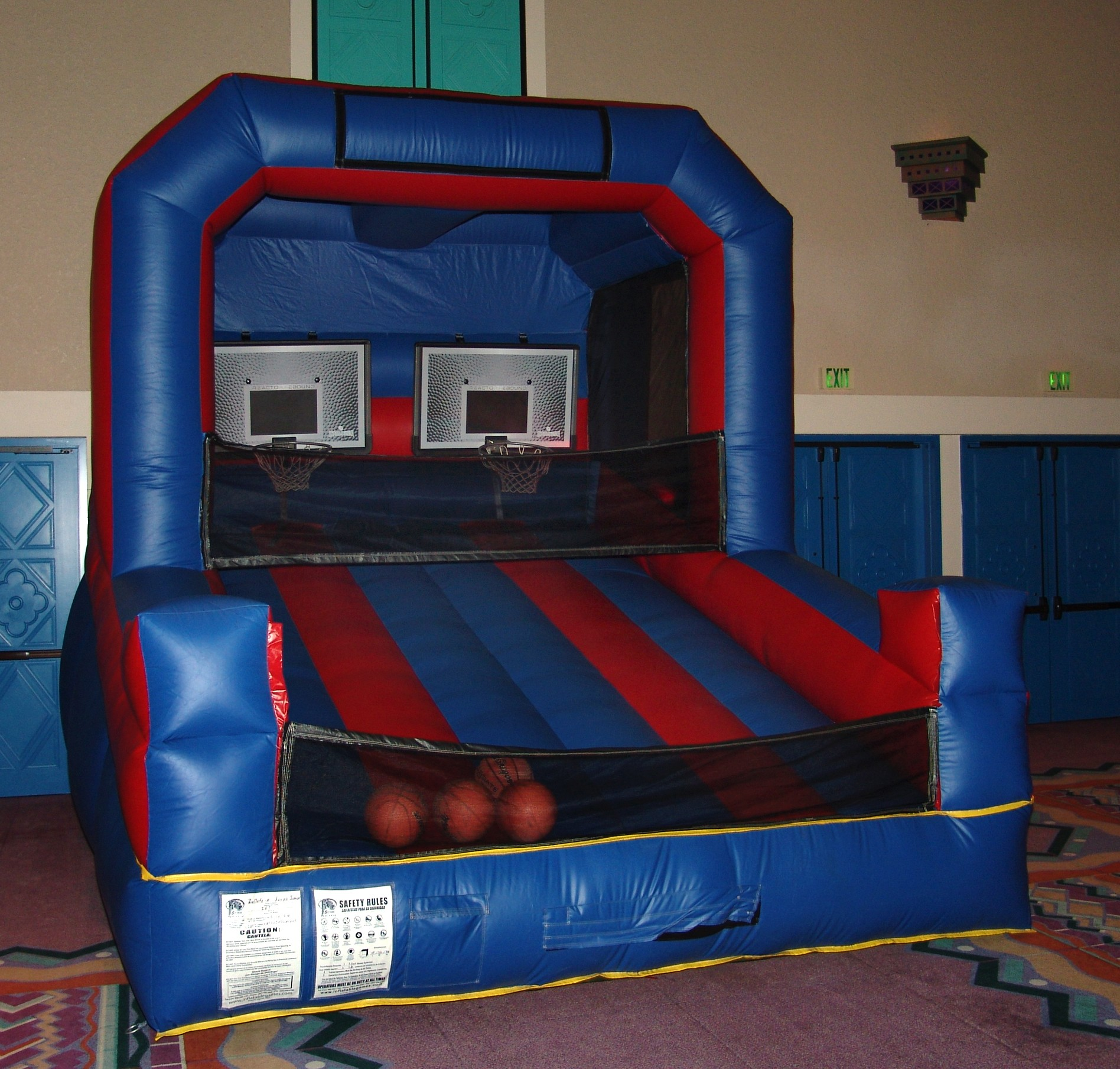 Inflatable Basketball Game - E28