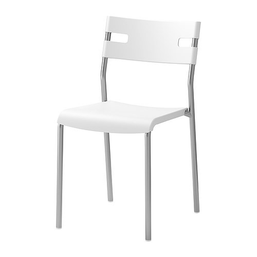 Standard White Chair - SF64 (QTY: 56+)