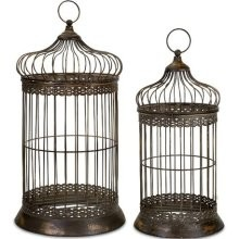 Wrought Iron Bird Cages - LD20