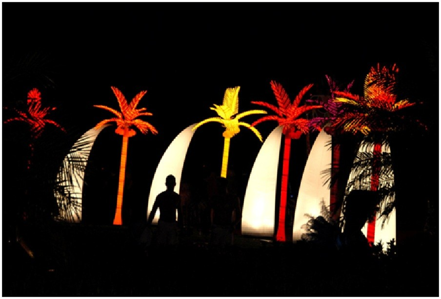 LED Palm Trees