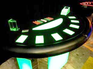 Lighted Table: Blackjack - CA22