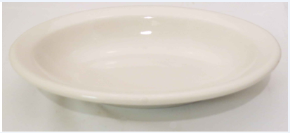 Off White Deep Oval Platter