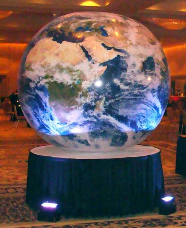 Inflatable Globe - PR62 - (Qty 2+)