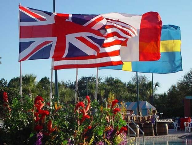 International Flag - PR63