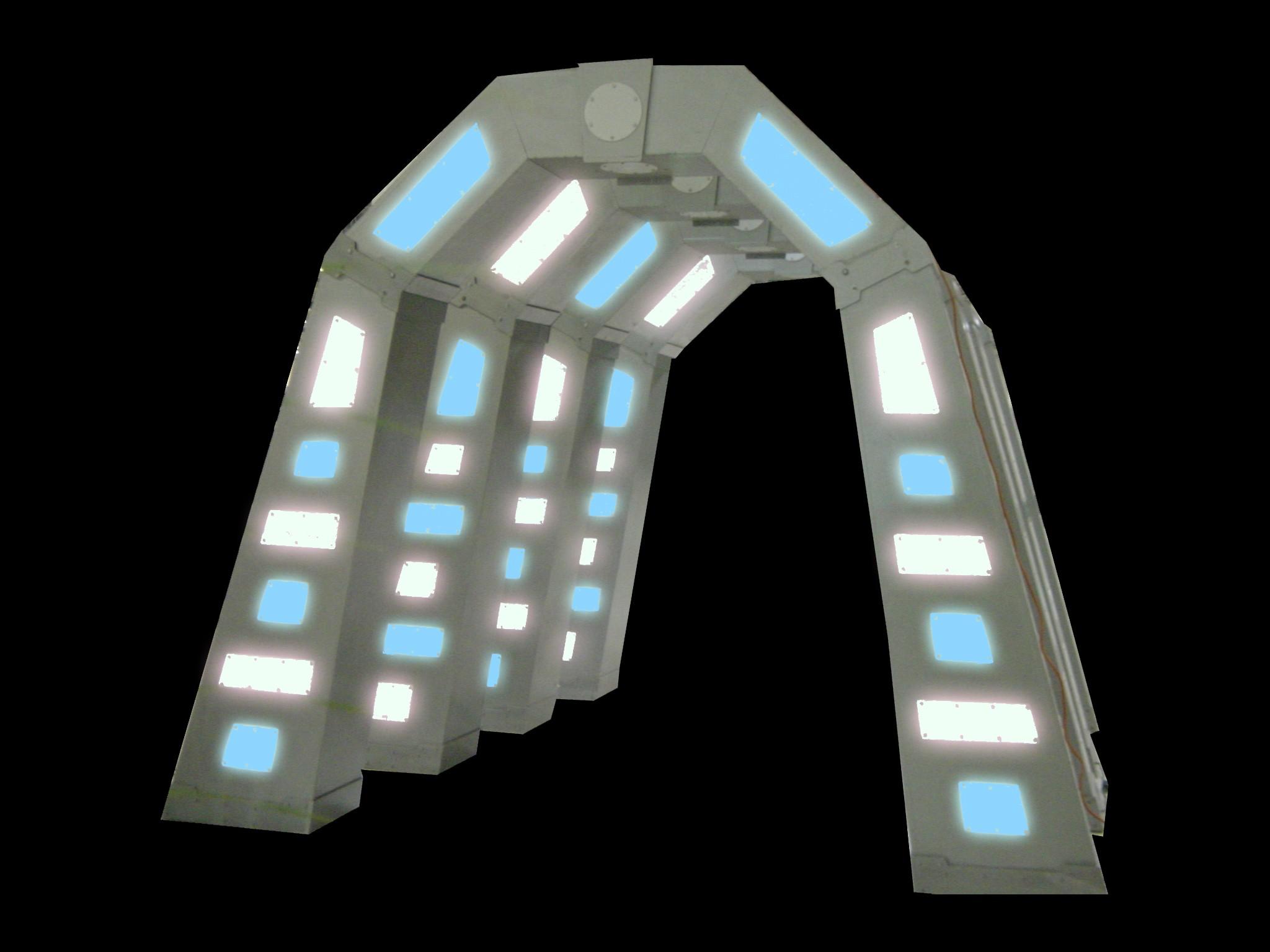 Futuristic Tunnel - PR07 - (Qty: 4+)