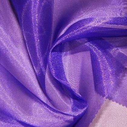 Purple Sheer Organza - LOR02