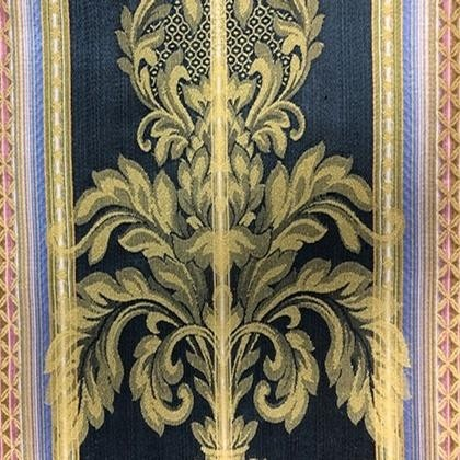 Royal Black Tapestry Runners & Overlays - LDM35