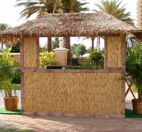 Thatched Hut Bar Front