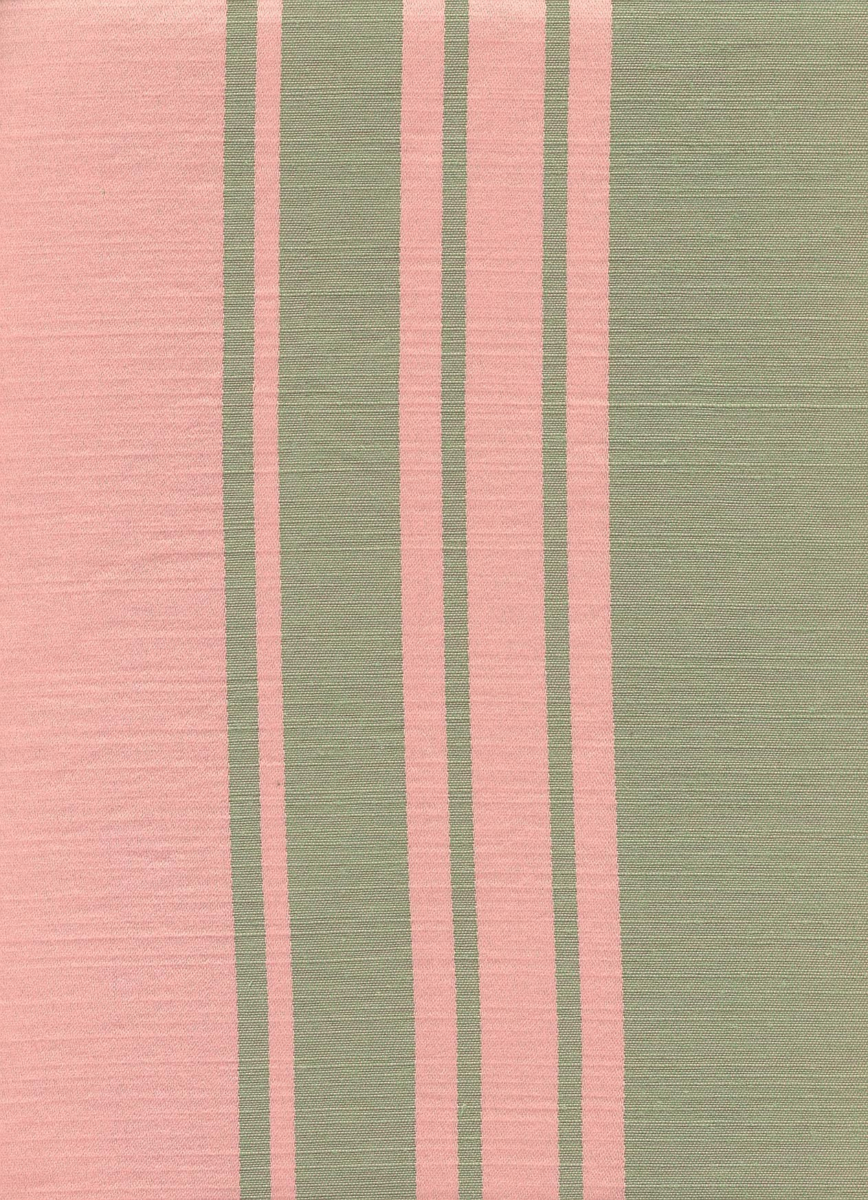 Silken Rose with Green Stripe Bands - CTS77