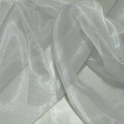 Silver Sheer Organza - LOR03