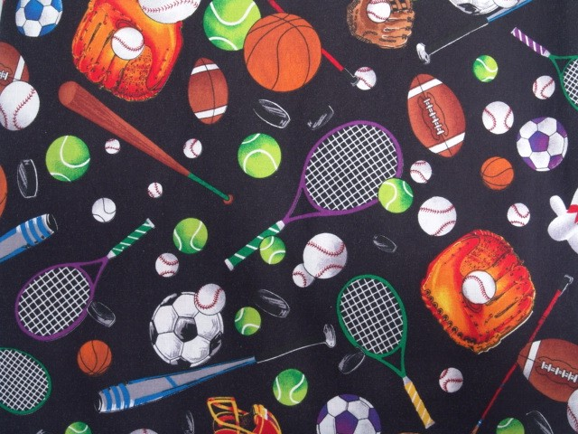 Sports Print Tablecloth