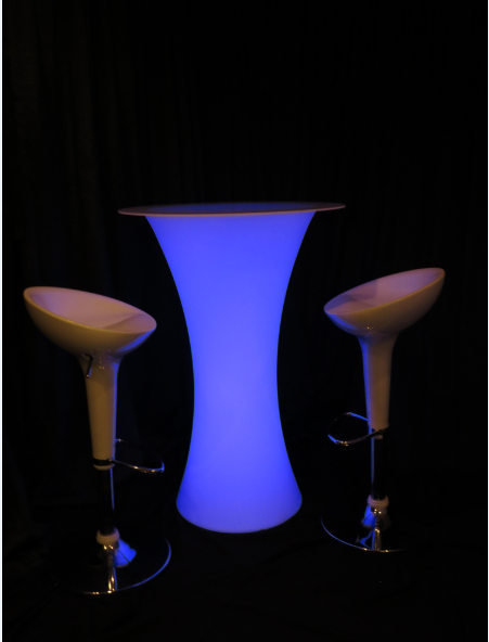 Standing Glow Cocktail Table- GL05 (Qty.12)