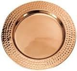 Copper Croc Charger Plate