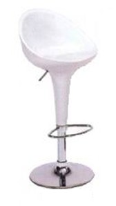 White Kappa Bar Stool