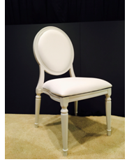 White King Louie Chair