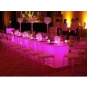 4' x 8' Acrylic Glow Tables- SF50 (Qty: 10+)