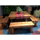 4' x 4' Farm Table - SF111