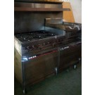 6 Burner Stove with Griddle - CE104