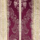 Burgundy & Gold Damask - LDM02