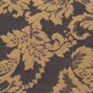Royal Black and Gold Damask - LDM10
