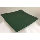 "11 ½"" Square Dark Green Plate"