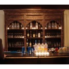 Hand Carved Back Bar - SF60