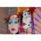 Hand Painted Masks- PR12 - (Qty: 4+)