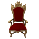 Red Santa's Throne