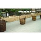 Rustic Barrel and Plank Buffet - PR84