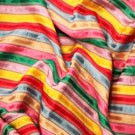 Rainbow Stripe Satin - LPR88