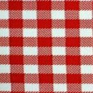 Red and White Picnic Check - LPR15