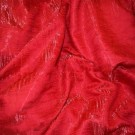 Red Crushed Satin - LSK08