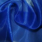 Royal Blue Sheer Organza - LOR21