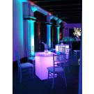 Purple Seated Glow Cocktail Table