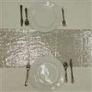 Silver Sequin Glitz Table Runner - LSG02