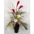 Tropical Ginger, Anthurium & Orchids