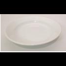 """9"""" White Porcelain Soup Bowl"""